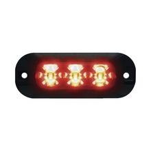 Xtp3r Code 3 Luz Perimetral De 3 LEDS Color Rojo rojo
