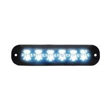 Xtp6bb Code 3 Luz Auxiliar Con 6 LEDS Color Rojo rojo
