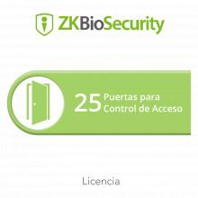 Zkbsac25 Zkteco Licencia Para ZKBiosecurity Permite Gestiona