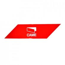 001G0461 Came Paquete con 24 bandas rojas reflejantes adhesi