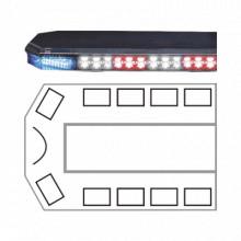 2131989C Code 3 Barra de luces serie 21 Ultra Brillante con