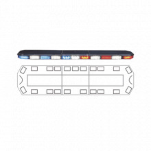 2132267C Code 3 Barra de luces 47 serie 21 Ultra Brillante