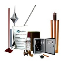 Kitmaster01 Total Ground Kit Pararrayo Con Accesorios Para P