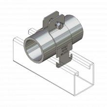 Anccfx34 Anclo Tubo Flexible De 3/4 19mm En Acero Galvaniz