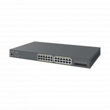 Ecs1528fp Engenius Switch PoE Gigabit 410W De 24 Puertos G