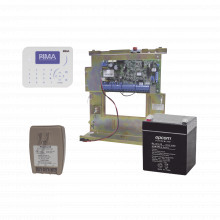 Forceklt500 Pima Sistema De Alarma Panel Hibrido 8 A 144 Zo