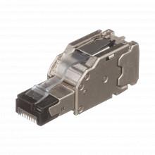 Fps6x88mtg Panduit Plug RJ45 Blindado Instalacion Recta Te