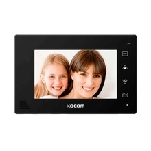 Kcva374m Kocom Monitor Adicional Color Negro Manos Libres Co