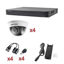 Kh1080p4dw Hikvision KIT TurboHD 1080p / DVR 4 Canales / 4 C