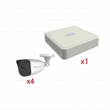 Kip2mp4b Hilook By Hikvision KIT IP 1080p / NVR De 4 Canales