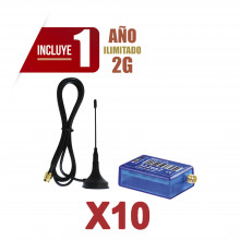 Kit10mini012g M2m Services KIt De 10 Comunicadores De Alarma