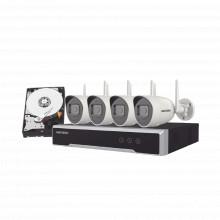 Nk44w0h1twdd Hikvision Kit IP Inalambrico 4 Megapixel / NVR