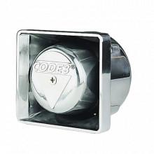 PB100C Code 3 Altavoz cromado de montaje 100 Watts sirenas