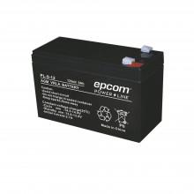 Pl912 Epcom Powerline Bateria AGM/VRLA De 12 Vcd 9 Ah UL