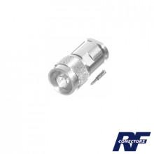 Rfn10021s Rf Industriesltd Conector N Macho Para Cables Con