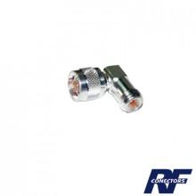 Rfn10121 Rf Industriesltd Adaptador En Angulo Recto De Con