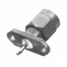Rsa3221 Rf Industriesltd Conector SMA Macho De 2 Perforacio