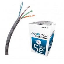 SBT2640002 SBE TECH SBETECH SBEUTPC5ECUGY - CABLE UTP CAT5E/