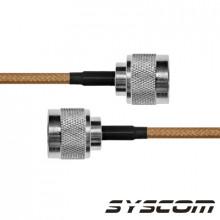 Sn142n180 Epcom Industrial Jumper De 180 Cms. Con Cable Coax