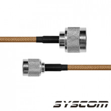 Sn142tnc30 Epcom Industrial Cable RG142 Con Conductores N M