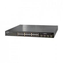 Wgsw24040hp4 Planet Switch Administrable L2 De 24 Puertos 1
