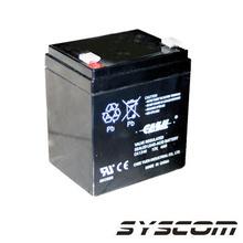Wp4512p Syscom Bateria De Respaldo A 12 Vcd / 4 Ah. Baterias