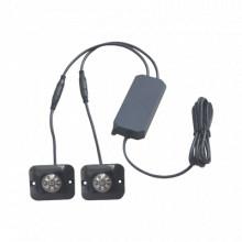 X12B Epcom Industrial Signaling Par de Lamparas Ultra Brilla