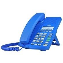 X3bl Fanvil Telefono IP Soho Color Azul Para 2 Lineas SIP Vo