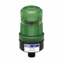 X6267G Ecco Mini baliza de LED color verde montaje permanent