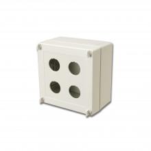 Xibox04 Siemon Caja Industrial De Conexion Ruggedized De