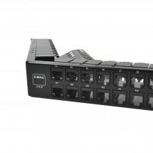 Z6apnlau48k Siemon Patch Panel UTP Z-MAX Categoria 6A De 48