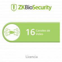 Zkbsvid16ch Zkteco Licencia Para ZKBiosecurity Para Modulo D