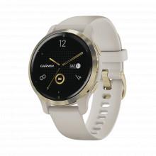 100242901 Garmin Reloj Garmin Venu 2S Color Beige En Bisel D