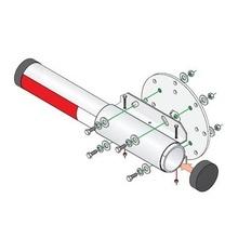 1601242 Dks Doorking Kit De Instalacion Para Brazo De Alumin