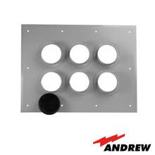2046736 Andrew / Commscope Placa Pasamuro Con Capacidad De 6