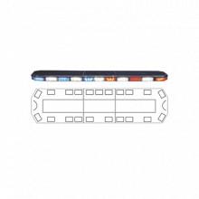 2131995CM Code 3 Barra de luces serie 21 con 216 poderosos L