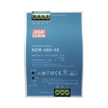 Ndr48048 Meanwell Fuente De Poder Riel Din 48V 480W cctv/acc