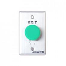 APBHV Accesspro Boton Tipo Hongo Color Verde / NO NC COM A