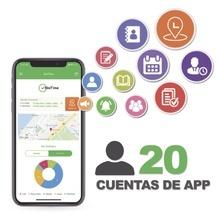 Biotimeapp20 Zkteco Licencia Para Realizar Checadas De Asist