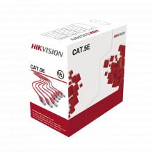 Ds1ln5esw Hikvision Bobina De Cables UTP 305 Mts / Cat5E / 2