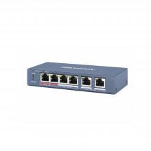 Ds3e0106pem Hikvision Switch PoE / No Administrable / 4 Pue
