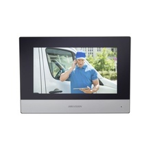 Dskh6320wte1 Hikvision Monitor IP Touch Screen 7 Para Videop