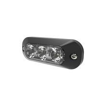 Ed3703a Ecco Luz Perimetral De 3 LEDS Color ambar Ambar