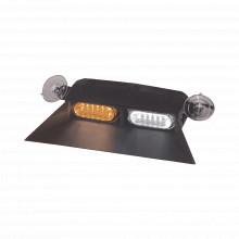Esx2vsaw Code 3 Luz Interior De Parabrisas Con Ventosa Con V