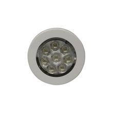 Ew0210 Ecco Mini Luz De Cortesia De 8 LEDs Circular Con Bise