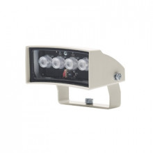 Gekowlh6 Videotec Iluminador De Luz Blanca De Bajo Consumo.