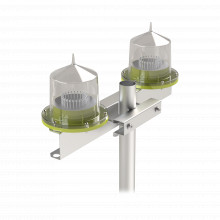 Hlu3doble Epcom Industrial Base Doble Para Lampara De Obstru