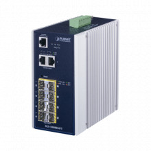 IGS10080MFT Planet Switch Industrial Administrable L2 8 Pu