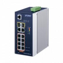 Igs42158p2t2s Planet Switch Industrial Administrable L2 De 8