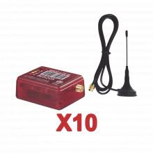 Kit10mn02 M2m Services KIt De 10 Comunicadores De Alarma MN0